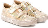 Pépé touch strap sneakers - kids - Goat Skin/Leather/rubber - 24
