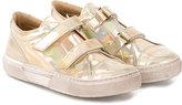 Pépé touch strap sneakers - kids - Goat Skin/Leather/rubber - 25