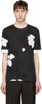 3.1 Phillip Lim Black Floral T-shirt