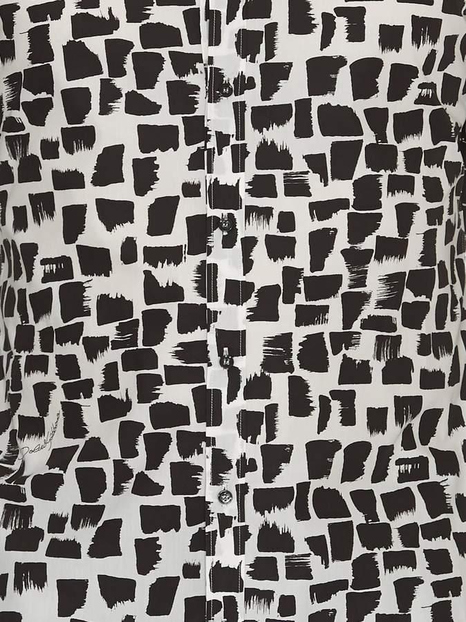 Dolce & Gabbana Brush Stroke Print Shirt