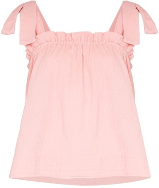 HONORINE Goldie ruched top