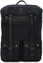 Belstaff Black Colonial Backpack