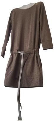 Brunello Cucinelli Camel Wool Dresses