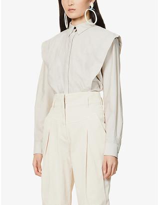 Isabel Marant Talki cotton-blend shirt