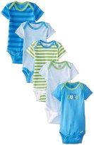 Gerber 5 Pack Onesie - Seriously Cute (Baby) - Blue-Newborn