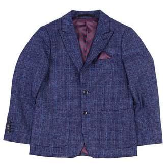 Isaac Mizrahi Textured Plaid Blazer (Big Boys)