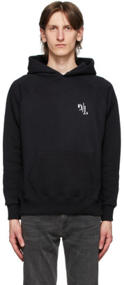 Second/Layer Black Caddy Rosary Hoodie