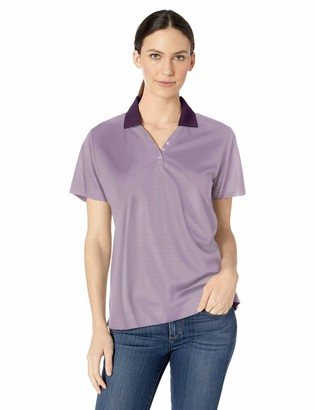 Ashe Xtream Women's Eperformance Launch Snag Protection Striped Polo