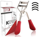 KIPOZI Eyelash Curler with Refills, Long-lasting ,Natural-looking Curl