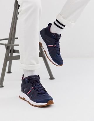 Tommy Hilfiger sneaker winter boot in navy