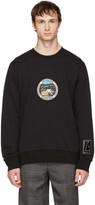 Lanvin Black 'Paradise' Patch Sweatshirt