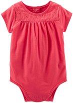 Osh Kosh Lace Bodysuit (Baby) - Rose Cherry-6 Months