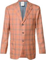 Kiton plaid blazer - men - Silk/Cashmere - 50