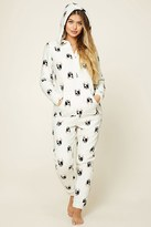 Forever 21 FOREVER 21+ Holiday Dog Print PJ Jumpsuit