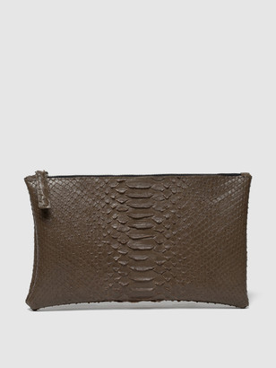Rivers Eight Small Clutch, Faux Python