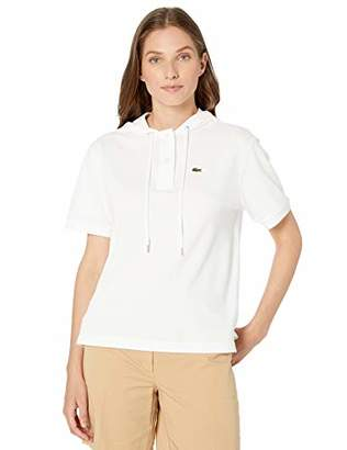 Lacoste Women's S/S Hooded TEE-Shirt