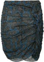 Etoile Isabel Marant Edna printed chiffon skirt