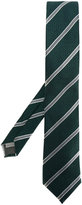 Canali diagonal stripes tie