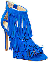 Blue Suede High Heels - ShopStyle