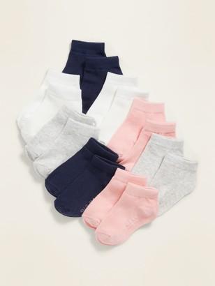 Old Navy Unisex Ankle Socks 8-Pack For Toddler & Baby