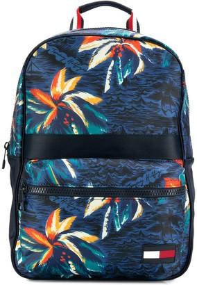 Tommy Hilfiger contrast print backpack