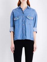 The Kooples Greg chambray shirt
