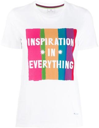 Paul Smith printed cotton T-shirt