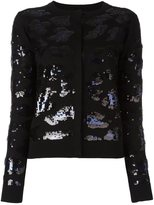 Sibling sequin embellished cardigan - women - Merino - S