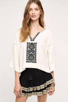 Plenty by Tracy Reese Siba Embroidered Top