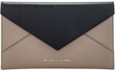 Marc Jacobs Saffiano Bicolor Envelope Wallet