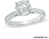 Zales Celebration Lux® 2 CT. Diamond Solitaire Engagement Ring in 14K White Gold (I/SI2)