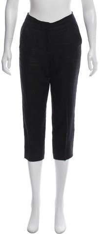 Giambattista Valli Mid-Rise Cropped Pants