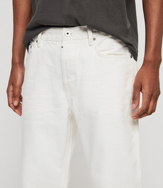 AllSaints Ridge Tapered Jeans, Chalk