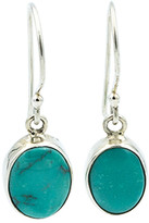 Exex Design Jewelry Sterling Silver Mexico Turquoise Drop Earrings