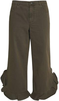 Cinq à Sept 3/4-length shorts