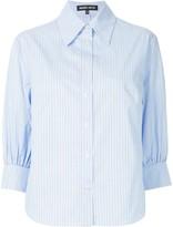 Markus Lupfer striped boxy shirt