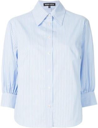 Markus Lupfer Striped Boxy Shirt