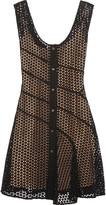 Sonia Rykiel Cotton-mesh mini dress