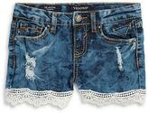 Vigoss Girls 7-16 Little Girls Distressed Jean Shorts