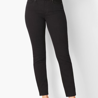 Talbots Slim Ankle Jeans - Curvy Fit - Black