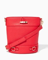 Charming charlie Classic Bucket Crossbody