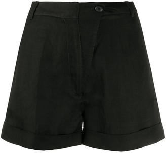 Ann Demeulemeester Plain Basic Shorts