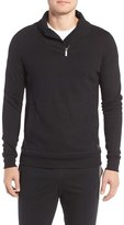 2xist Men's Incline Quarter Zip Cotton Blend Pullover
