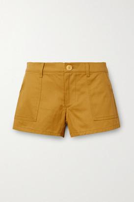 PARADISED Kelly Cotton-twill Shorts - Tan