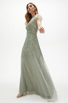 Thumbnail for your product : Coast Angel Sleeve Sequin Maxi Dress