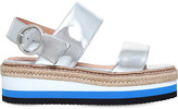 Carvela Keith patent flatform sandals