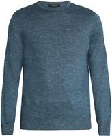 Ermenegildo Zegna Melange cashmere-blend sweater