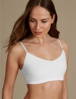 Marks and Spencer Cotton Rich Strappy Bralet