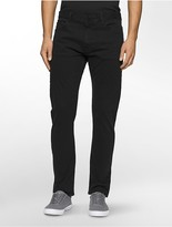 Calvin Klein Slim Straight Sateen Pants