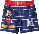 Disney Disney's Mickey Mouse Toddler Boy Striped Swim Shorts